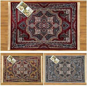 New Luxury Antique Hand Knotted Traditional Rug Runner Carpet For Living Bedroom