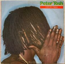 Peter Tosh – Mystic Man LP  Rolling Stones Records – COC 39111 VG Reggae Dub