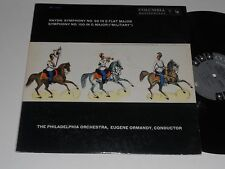 HAYDN NM- Ormandy Philadelphia Orchestra Symph No. 100 & 99 Columbia ML-5316