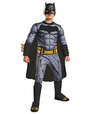 "Batman v Superman Kids Deluxe Batman Costume,Larg, Age 8-10,HEIGHT 4' 8"" - 5' 0"""