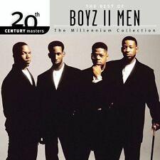 20th Century Masters: The Millennium Collection: Best of Boyz II Men by Boyz II Men (CD, Sep-2003, Motown)