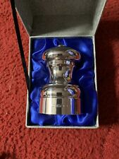 More details for peter piper brand silver hallmarked pepper mill set 1990  boxed
