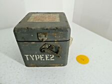 More details for vintage handmade dovetailed type eza wooden compass box military army (2) j27