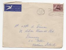 1953 SOUTH AFRICA Air Mail Cover CAPE TOWN To DUNMURRY BELFAST NI SG147