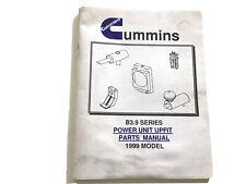 Cummins B3.9 Series Power Unit Upfit Parts Manual 1999 Model Stock # 5U