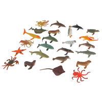 nouveau Schleich Dauphin solide Jouet en plastique figure Wild Zoo Mer Animaux Marins