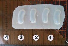 Small Jelly Beans Candy Mold Kawaii Soap Resin Flexible Plastic Polypropylene