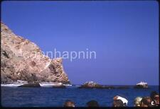 CATALINA ISLAND CA View from Boat Trip California Vintage 1967 Slide Photo