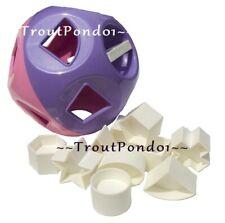 Tupperware Shape O Ball Kids Baby Toddler Development Sorting Toy Purple Pink