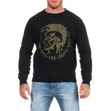 DIESEL S-Orestes-Patch Sweatshirt Herren Pullover Sweater Pulli