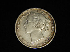 1900 Newfoundland 20 Cents Silver - Young Victoria