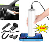 Car Vacuum Cleaner NEW Mini Handheld Portable Cylinder Wet Dry Dust Hair Home.
