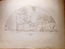 MURILLO.  Grabado original. Laborde 1806-20