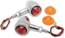 Drag Specialties Custom Mini-Bullet Marker Lights 2040-0276 for Harley Davidson