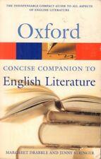English Concise Oxford Companion To English Literature(Book)-Acceptable