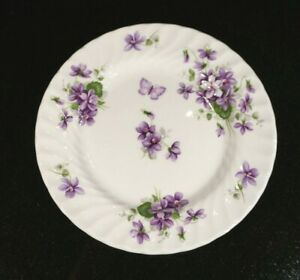 Beautiful Aynsley Wild Violets Bread Plate