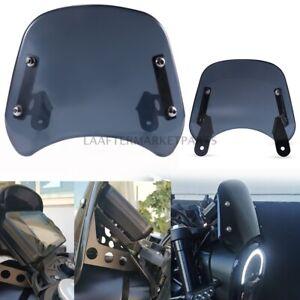 Smoke Motorcycle Front Windshield Headlight Windscreen For Benelli Leoncino 250