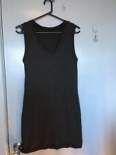 Metalicus grey and black stripped dress
