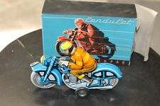 Tin motorcycle toy ,vintage, friction,wind-up