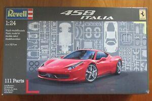 MAQUETTE AUTO  1/24 25 REVELL  07141 FERRARI 458 ITALIA  NEUF EN BOITE SCELLEE