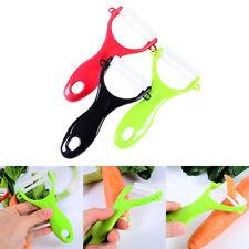 Potato Hand Peeler Ceramic Blade Spud Fruit Vegetable Slicer Speed Cutter Tool