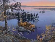 "Darrell Bush  Autumn's Call "" CANVAS # 38/195"