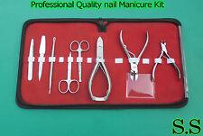 9 PCS Professional Quality nail Manicure Kit Tools SET DS-138