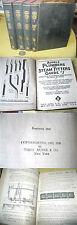 4Vols,AUDELS PLUMBERS & STEAM FITTERS GUIDE SERIES,1947,Frank D. Graham,Illust