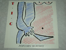 "T.I.C. Popcorn '88 Remix 1989 OZ P/S 7"" MINT"
