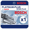 PEUGEOT 205 1.9i GTI 87-94 BOSCH Platinum Plus Spark Plug FR7DP