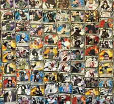 $1 RARES YOU PICK! Naruto CCG Rainbow/Gold Text Ninja Rare cards Super Discount!