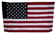 3x5 Embroidered Sewn Usa American 100% Cotton Flag 3'x5' Banner Bunting Sleeve