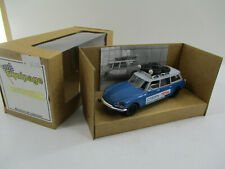 CITROEN DS BREAK ASSISTANCE RALLYES EQUIPAGE 1/43