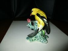 stangl bird crested goldfinch #3813 excellent shape great colors