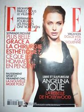 Magazine mode fashion ELLE French #3101 juin 2005 Angelina Jolie