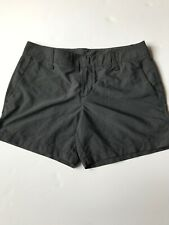 Ladies Gray Hurley Nike Sri-fit  Shorts Size 3 With Side Pockets