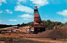 Hiawatha Mine No 1 Iron River Michigan MI Postcard