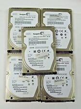 "(Lot of 5) 250GB 2.5"" SATA Hard Drive - Seagate - HP Spares: 497730-001"