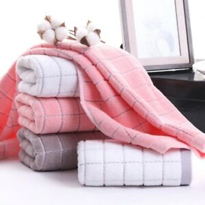 1pcs Cotton new Face Soft Towel Hair Hand  Absorbent Adults Kids Home Bathroom