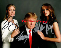 Trump Family Autographed Signed 8x10 Photograph