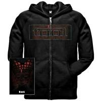 NWT Tool Band Red Face Zip-up Black Hoodie Shirt (SML-2XL) badhabitmerch