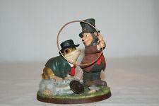"Declan's Finnians Blarney Stone 44735 ""Luck Before You Leap"" Ireland Figurine"
