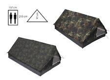 2 PERSONEN ZELT BW Bundeswehr Zweimannzelt Moskitonetz Camping camo camouflage