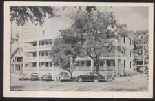 Postcard ST PETERSBURG Florida/FL  Emerson Tourist Apartments Promo Ad 1940's