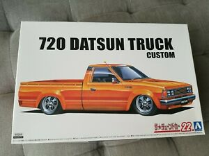 Aoshima 1/24 No.22 1982 Datsun 720 Custom Truck