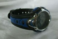 Pasnew Sports Watch -Water Resistant- Blue & Black Adjustable Band WORKING!