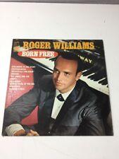 Roger Williams - Born Free (Vinyl Record, 33, KL-1501)
