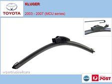 Toyota KLUGER 2003 - 2007 (MCU)  Flexible Windscreen Wiper Blades (PAIR)