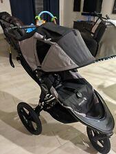Baby  Summit X3 Black/Gray Jogger Single Seat Stroller