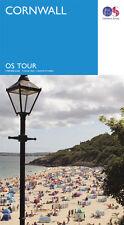 Cornwall Travel Tour Map - OS - Ordnance Survey - NEW - 2016
